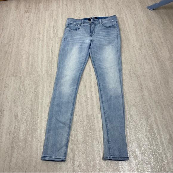Express stretch jean legging 6R